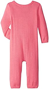 kate spade york Baby Girls Intarsia Sweater knit Coverall, Costume Pink, 6 Months by Global Brands Group - Quidsi