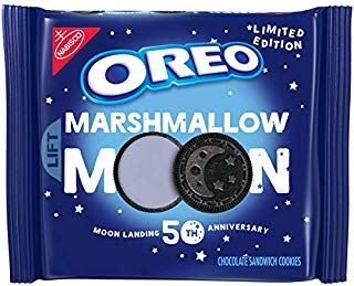 Oreo Limited Edition Marshmallow Moon Cookies, Moon Landing 50th Anniversary ( 2 pack ) by Oreo Limited Edition Marshmallow Moon Cookies, Moon Landing 50th Anniversary ( 2 pack )