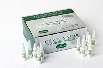 NUEVO GERMINAL 3.0 TRATAMIENTO ANTIAGING 30 AMPOLLAS Xmas Gift Skin Beauty Gift
