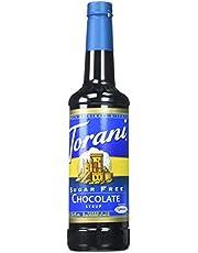 Torani Sugar Free Chocolate Syrup, PET Bottle, 750 milliliters