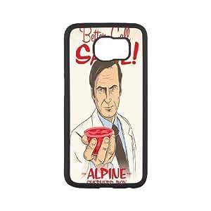 Saul Goodman Better Call Saul print art phone Case Cove For Samsung Galaxy S6 Edge SM-G925 XXM9963209