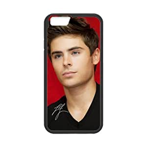 Custom Phone Case for iPhone 6 4.7 Inch Zac Efron Laser Print by runtopwell