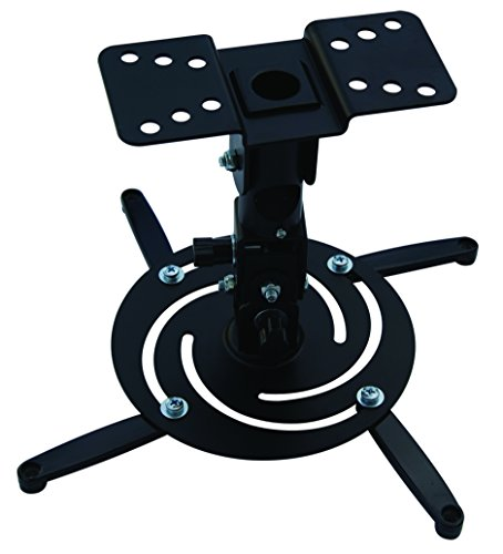 XtremPro Projector Ceiling Mount Tilt ±30°, Rotation 360° Max 22lbs Load Capacity - Black (41124) by XtremPro