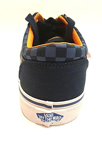 Vans Milton, Zapatillas Niños, Azul (Checkers/Dress Blues/true White), 37 EU