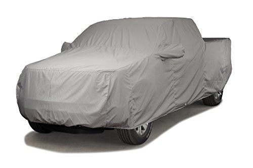 Covercraft Custom Fit Car Cover for Chevrolet and GMC (Sunbrella Fabric, Gray)