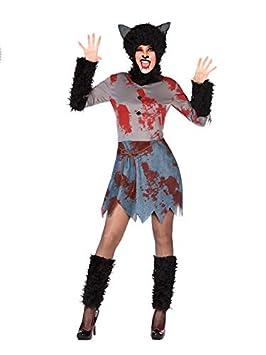 DISBACANAL Disfraz Hombre Lobo para Mujer - -, M-L: Amazon.es ...