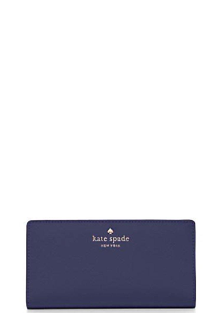 Kate Spade New York Bifold Wallet Indigo Blue