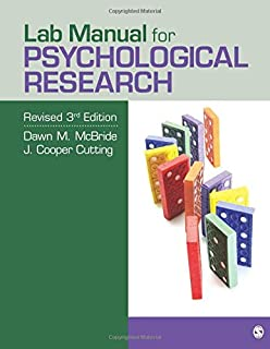 Amazon com: The Process of Research in Psychology
