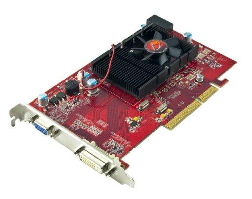 - VisionTek Radeon 3450 512MB DDR2 AGP (DVI-I, VGA) Graphics Card - 900374