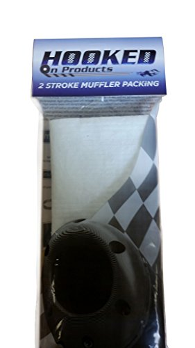 Hooked on Products #4SPM001 2 Stroke Muffler Repacking and Silencer kit