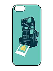 Humor Case-Individualization Say Cheese Iphone 5 5s TPU Gel Silicone Cover Case Black