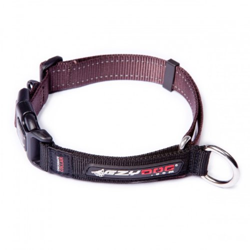 Ezydog Checkmate Collar, Small, Chocolate