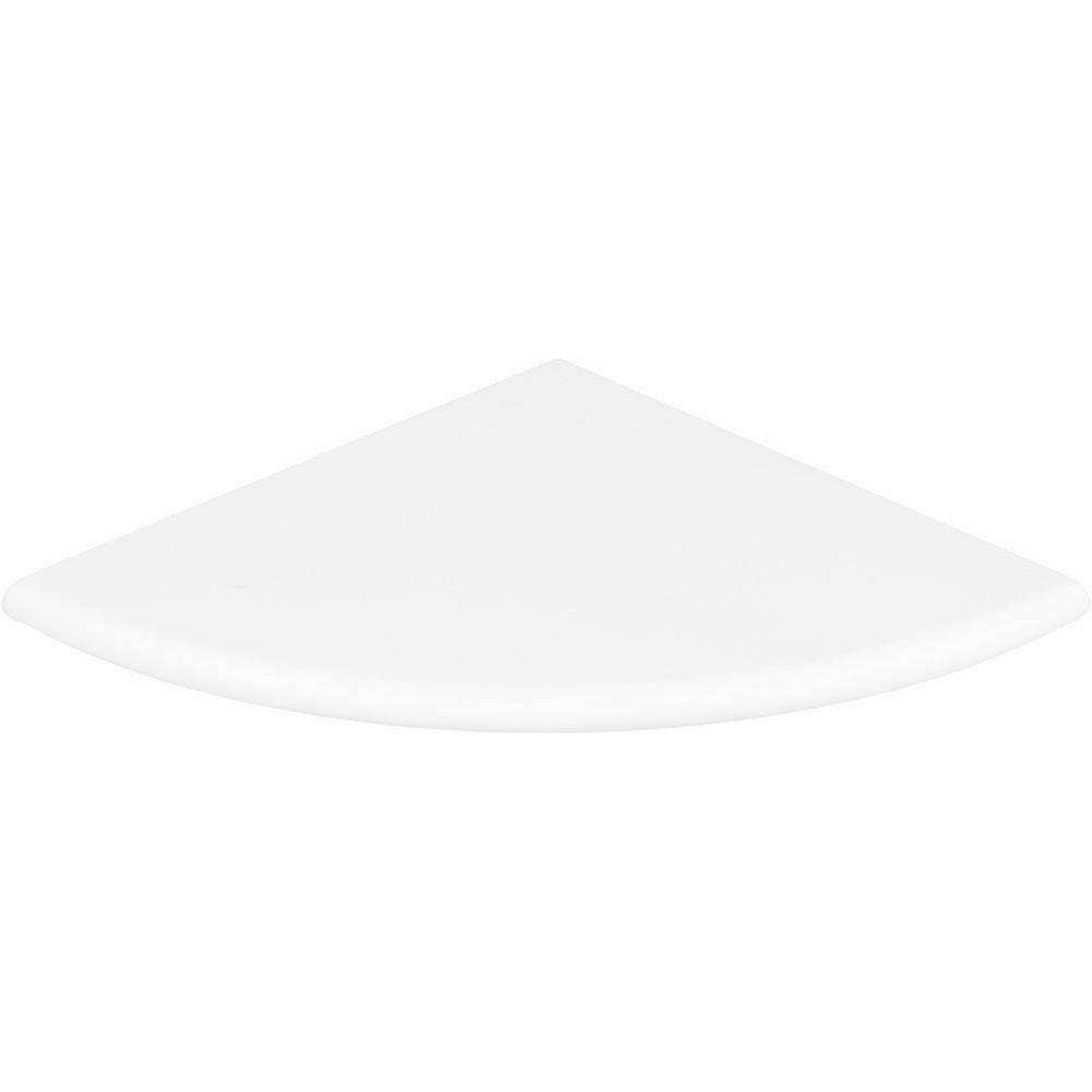 Vogue Tile Premium Quality Thassos White Marble Corner Shelf Polished 9'' (1)