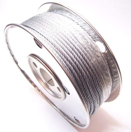ADVANTAGE 1/4'', 7x19 Galvanized Cable (150 ft Reel)