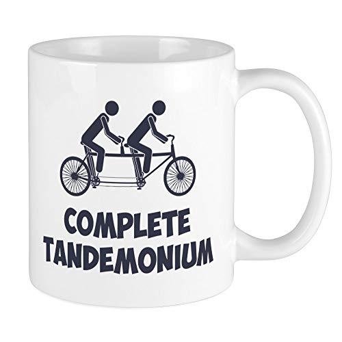 CafePress Tandem Bike Complete Tandemonium Mugs Unique Coffee Mug, Coffee Cup