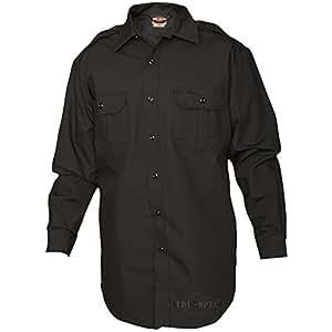 Tru-Spec Tactical Dress Shirt Long-Sleeve Black L-Reg 1412005