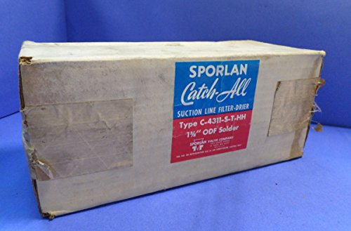 Sporlan Valve Company C4311STHH Catch All 48 CI 1 3/8 ODS by Sporlan Valve Company