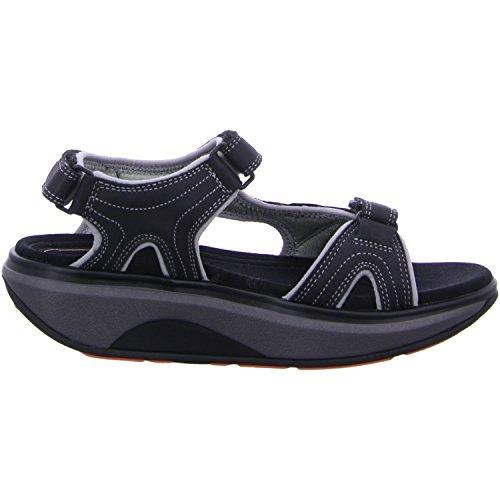 Joya Womens ID Cairo II Nubuck Sandals Black