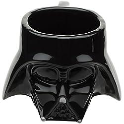 Zak! Designs Sculpted Ceramic Mug in Shape of Classic Darth Vader Helmet, BPA-free, Star Wars Collectible