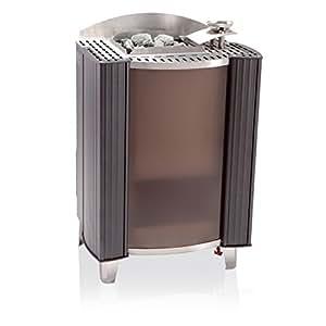 EOS Premium Evaporador Horno Stand Horno BI o germanius 18KW Antracita perleffekt