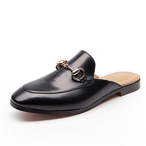 Sandalias de verano de señoras hebilla retro zapatillas 2