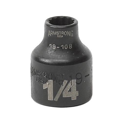 3/8 Dr. Standard Sockets - 3/8 dr power skt 7/812-pt std - Std Socket Armstrong