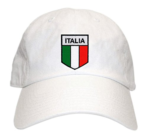 Express Design Group Italian Flag Patch Hat White