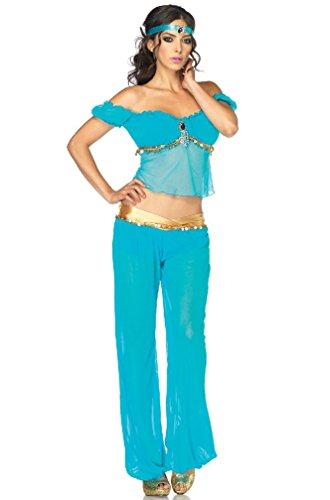 [8eighteen Arabian Princess Jasmine Beauty Adult Costume] (Spartan Princess Costumes)