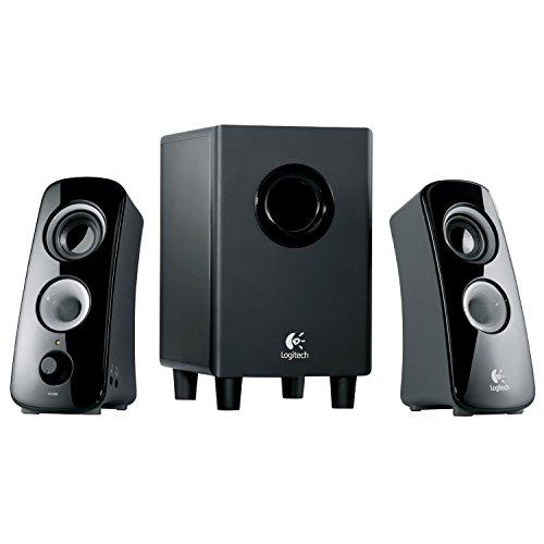 Logitech Z323 3-Piece 2.1 Channel Multimedia Speaker System,