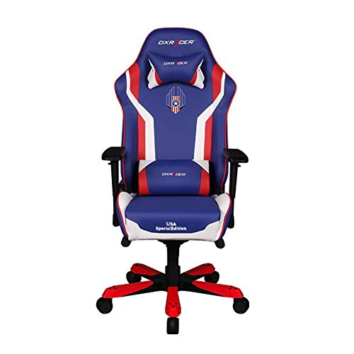 DXRacer OH/KS186/IWR/USA3 Special Edition USA King Series Gaming Chair