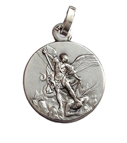 Saint Michael Medal Necklace (Saint MIchael The Archangel Medal - The Patron Saints Medals)