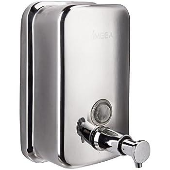 imeea stainless steel manual wallmount soap dispenser 18oz500ml