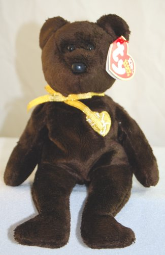 Amazon.com  1 X TY Beanie Baby - 2003 SIGNATURE BEAR  Toys   Games 988e41c91d1