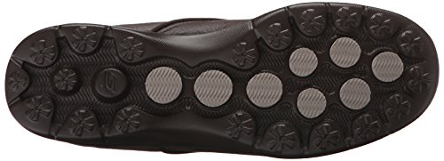 Walking Untouched Step Skechers Leather Shoe Women's Go Performance Chocolate wxCwpqvRH