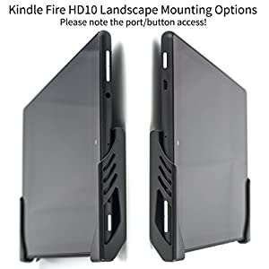 "Kindle Fire HD Wall Mount by Dockem; Koala Mount Damage Free Wall Dock for Kindle Fire HD, Kindle Fire HDX 7, Kindle Fire HDX 8.9"", Kindle Fire HD 8.9"", Kindle Paperwhite, Kindle Voyage"