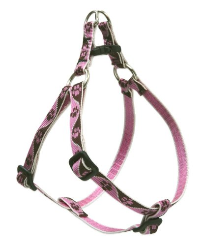 LupinePet Originals 1 2  Tickled Pink 10-13  Step in Harness for Extra Small Dogs