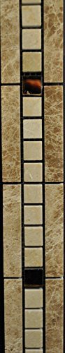 Tuscany Scabas 1 x 2 Split Face Stone Tile
