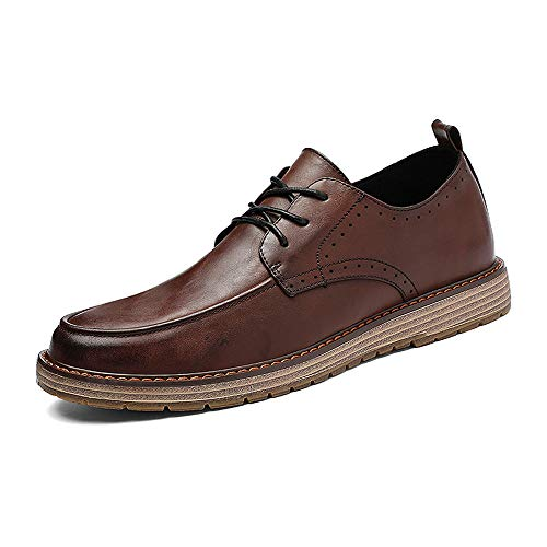 Scarpe Formal Seiko Nuovi Oxford Contracted Shoes British Business Style Fashion Casual Vintage Nuovo Marrone Uomini da Cricket 0xROSxP