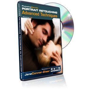 Photoshop CS5 Portrait Retouching Advanced Techniques tutorial DVD - Learn Photoshop CS5 techniques for digital photographers training video