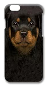 Case For Iphone 6 Plus (5.5 Inch) Cover Case, Case For Iphone 6 Plus (5.5 Inch) Cover -Kids Rottweiler Puppy Polycarbonate Hard Case Back Cover Case For Iphone 6 Plus (5.5 Inch) Cover 3D