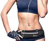 FreedomVentures Running Belt Waist Pack - Phone Holder for Running Accessories - Running Gear for Men Women - Workout Fanny Packs for Women - Runners Belt Cell Phone Holder for Running iPhone Android