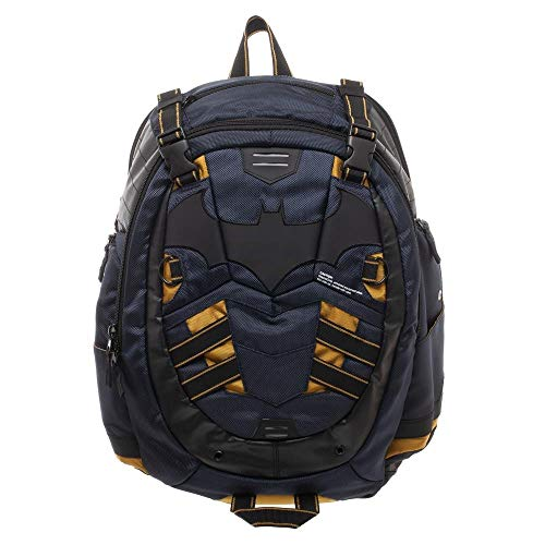 (DC Batman Backpack - Built-Up DC Backpack Inspired by Batman)