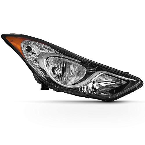 ACANII - For 2011 2012 2013 Hyundai Elantra 4-Door Sedan [USA Built] OE Style Headlight Headlamp Right Passenger Side