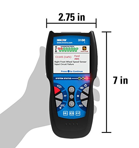 Innova 3100i Diagnostic Code Reader / Scan Tool with ABS for OBD2 Vehicles by Innova (Image #5)