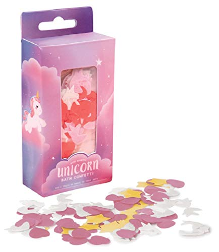 Fizz Creations for iscream Fun and Colorful Rose Scented Magical Unicorn Melting Bath Confetti (Bath Christmas Confetti)
