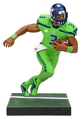 (McFarlane Toys EA Sports Madden NFL 18 Ultimate Team Series 1 Russell Wilson Seattle Seahawks Action Figure)