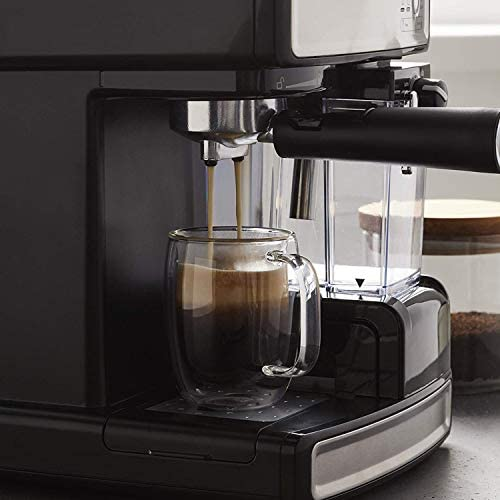 Mr. Coffee Espresso and Cappuccino Maker | Café Barista , Silver 41HaVrFojWL