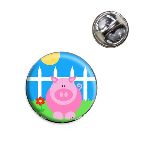 Pig Piggy Lapel Hat Tie Pin - Pin Piggy