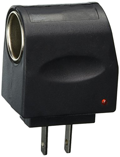 Tzou AC to DC Car Cigarette Lighter Socket Adapter (US Plug) (Style - Outlet Malls Dc