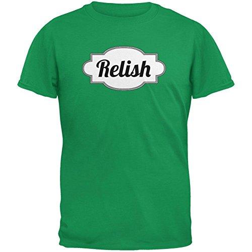 Old Glory Halloween Relish Costume Irish Green Adult T-Shirt - X-Large